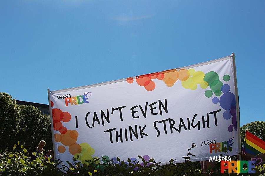 Pride slogan
